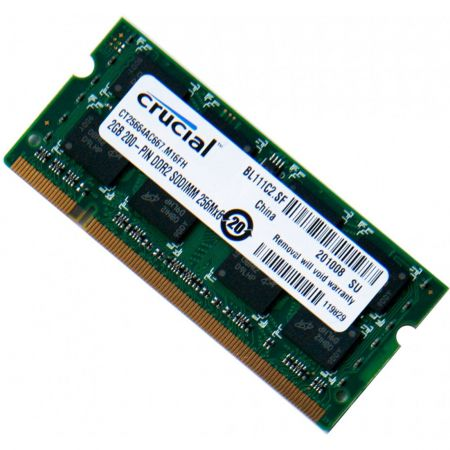 Ram Laptop Crucial 2Gb bus 667MHz PC 5300 For Macbook