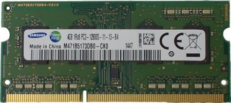 Ram Samsung 4gb Bus 1600Mhz PC12800 for laptop macbook