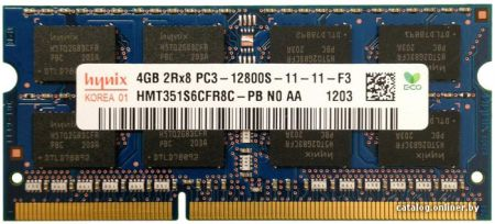 Ram Macbook Hynix 4GB DDR3 1600MHz PC3-12800 For laptop