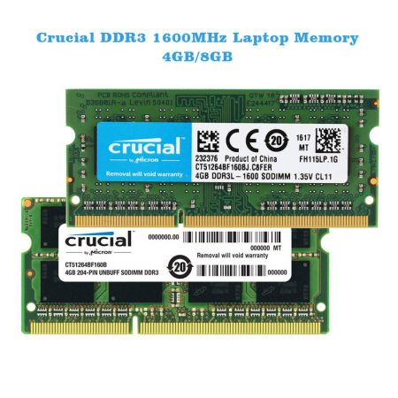 RAM Laptop DDR3 Crucial 4Gb bus 1600Mhz PC3L-12800 for Macbook giá tốt nhất