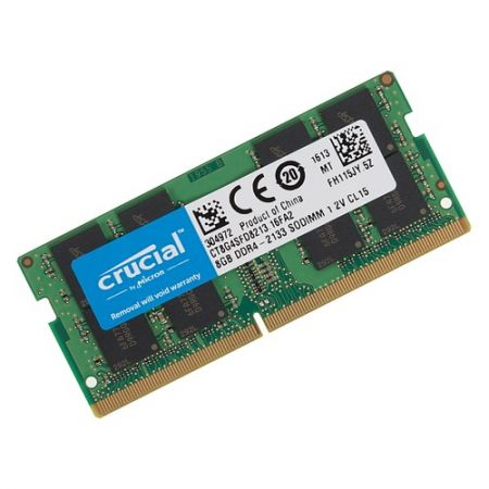 Bán Ram Laptop Crucial 8Gb DDR4 bus 21333MHz PC4 for Macbook