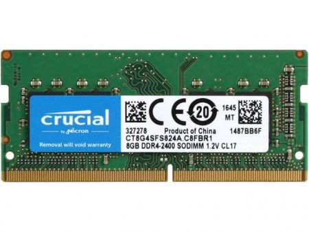 Bán Ram Laptop Crucial 8Gb DDR4 bus 2400MHz PC4 for Macbook