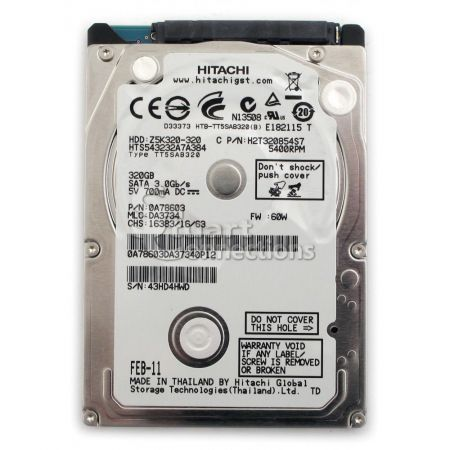 HDD Hitachi 320g/5400