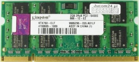 Ram Laptop Kingston 2GB DDR2 Bus 800MHz PC-6400 giá rẻ nhất