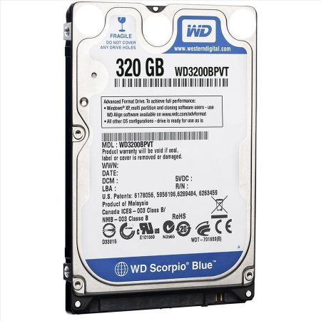Ổ cứng laptop HDD Seaget/SamSung/WD 320