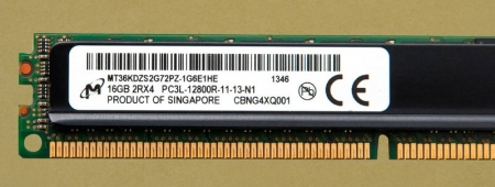 Ram Server Micron 16GB PC3L DDR3 PC-12800R ECC RDDim Registered