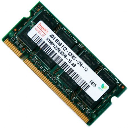 Ram Laptop DDR2 Hynix 2Gb Bus 667MHz PC5300 For Macbook