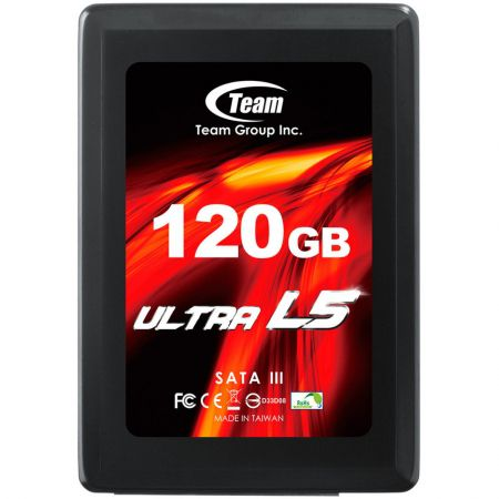 SSD TEAM Ultral L5 120GB, Up to Red/ Write: 520/140 Mb/s
