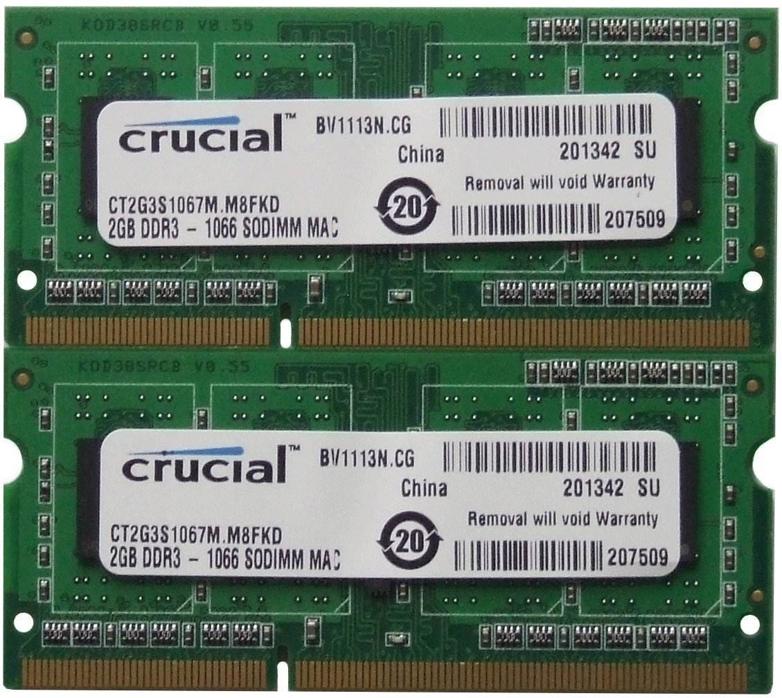 Bn Ram Laptop Crucial 2gb Ddr3 Bus 1066mhz Gi R Nht