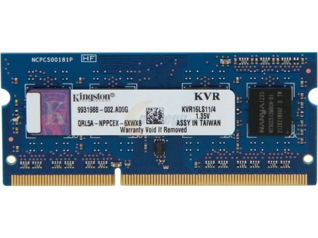 Ram Kingston 4Gb PC3L Bus 1600Mhz giá tốt nhất
