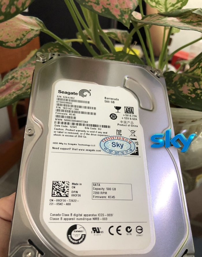 "Ổ cứng HDD Seagate 3.5"" 500GB"