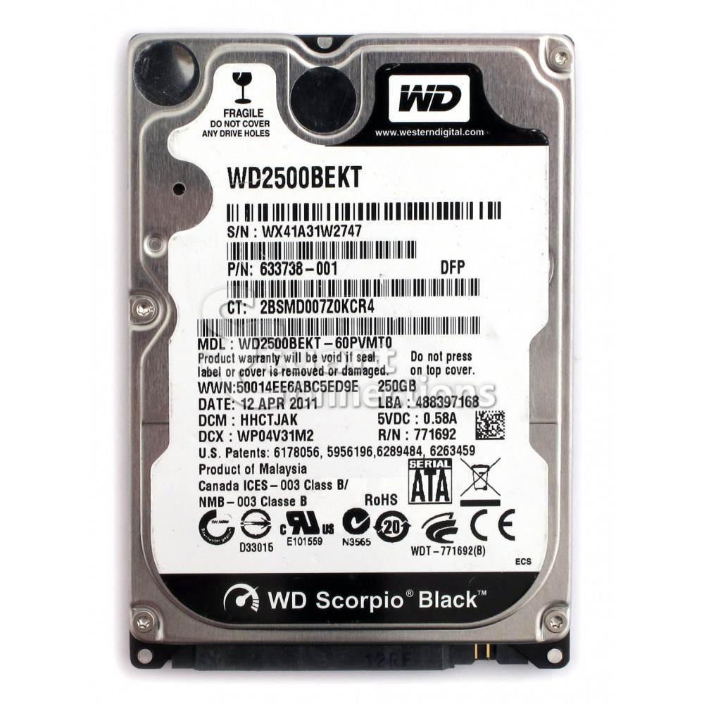 O Cung Laptop HDD Seaget Hitachi WD 250GB