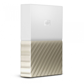 Ổ cứng WD My Passport Ultra 2TB WDBTLG0020BGD - White Gold