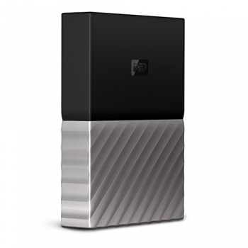 Ổ cứng WD My Passport Ultra 2TB WDBTLG0020BGY - Black Gray