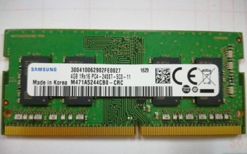 Ram Laptop Samsung 4GB DDR4 Bus 2400Mhz for Macbook giá tốt