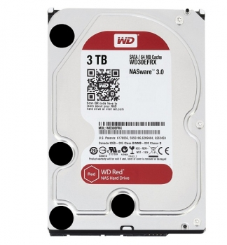 Ổ cứng HDD Red 3TB 3.5'' SATA 3/64MB Cache/5400RPM