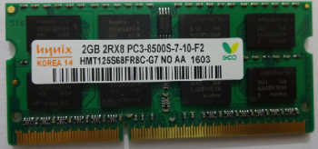 Ram Hynix 2GB DDR3 1066Mhz PC3-8500 for Laptop Macbook giá rẻ nhất