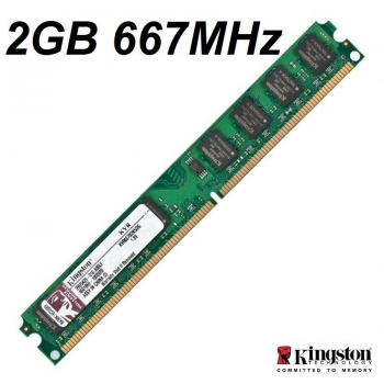 Ram kingston DDR2 2GB Bus 667MHz PC5300 For PC giá rẻ