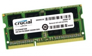 Ram Laptop Crucial DDR3 8Gb bus 1600MHz PC-12800 for macbook giá tốt nhất