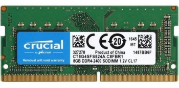 RAM Crucial 8GB DDR4 Bus 2400MHz 1.2V Dùng Cho Laptop Macbook