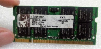 Ram Laptop Kingston 2GB DDR2 Bus 667MHz PC-5300 giá rẻ nhất