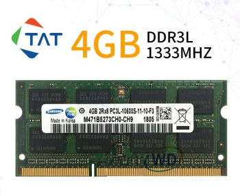 Ram Laptop 4GB DDR3L 1333MHz PC3L-10600 1.35V Kingston Samsung Hynix Micron Crucial
